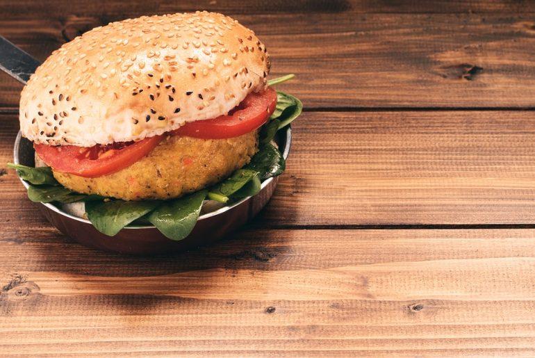 burger veggie di quinoa